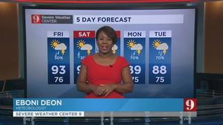 5 day forecast: Wet weekend ahead
