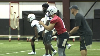 Sights & Sounds from UCF Football Practice