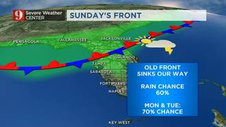 Storm System Brings Better Chance of Rain!