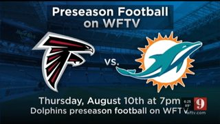Watch Falcons vs Dolphins on Channel 9