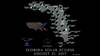This is how the solar eclipse will look in Florida