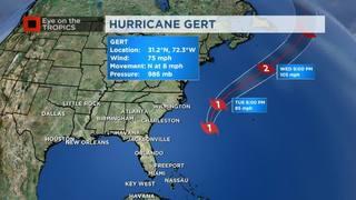 Hurricane Gert No Threat To United States