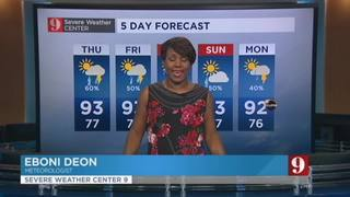 5 day forecast: heat, humidity & storms continue