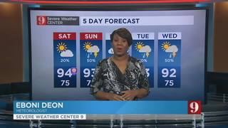 5 day forecast: storm coverage this weekend varies