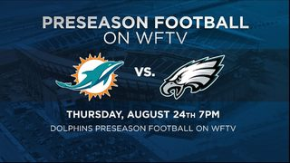 Watch Dolphins vs Eagles on Channel 9