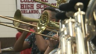 Colonial High School principal finds way to eliminate band fees
