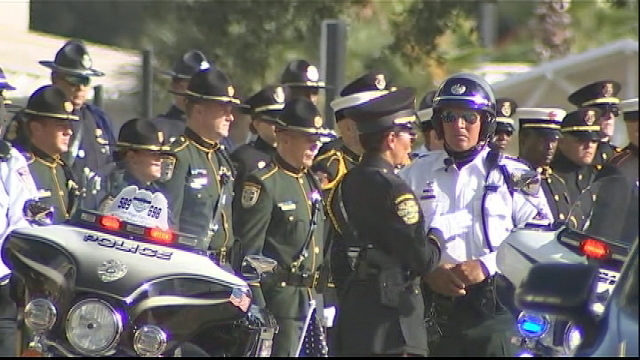 photos funeral service for kissimmee police officers wftv