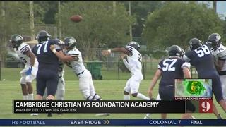 Cambridge Christian vs. Foundation Academy