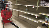 Video: Stores stripped of supplies, long lines form at gas stations as Hurricane Irma looms