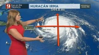 Irma se acerca a Puerto Rico