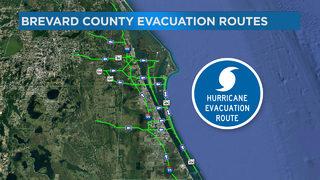 Video: Brevard County evacuation route following Hurricane Irma
