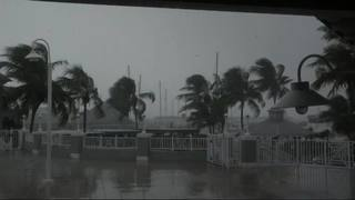 Video: Irma brings strong winds to Key West