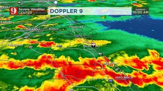 Condiciones favorables para el desarrollo de tornados por Irma