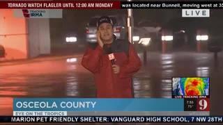 Osceola County feeling stronger winds