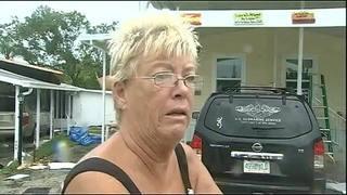 Raw sound: Woman describes tornado in Palm Bay