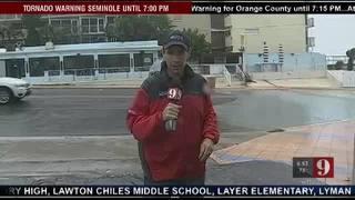 Winds continue to increase in Daytona Beach