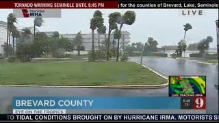 Winds picking up in Brevard County
