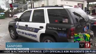 Damage at Sanford business