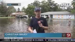 Flooding in Apopka neighborhood