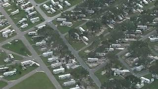 Raw video: Umatilla storm damage aerial view