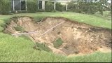 Video: Sinkhole forms in The Villages after Irma
