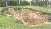 Sinkhole forms in The Villages after Irma.