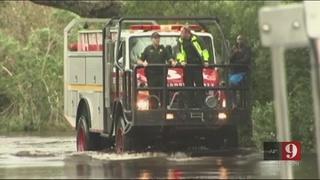 Video: Orange County Mayor surveys Orlo Vista flooding