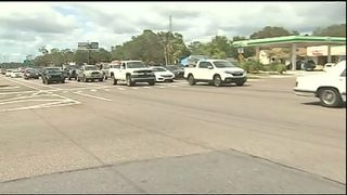Video: Stoplight outages in Lake County cause big backups