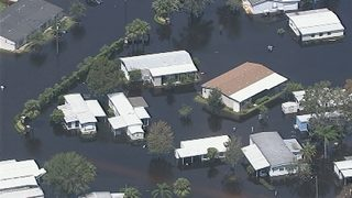 Flooding From Hurricane Irma Prompts Evacuation Of Kissimmee Mobile Home Park PVideo