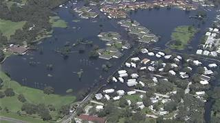 Video: Flooding in Kissimmee 55+ community