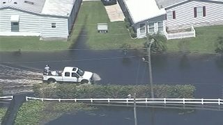 Video: Flooding plagues areas of Osceola County 8 days after Irma