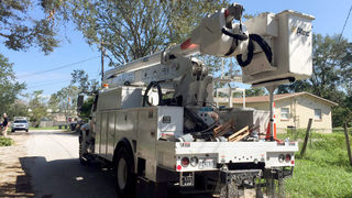 Video: More than 80,000 without power a week after Irma, officials say