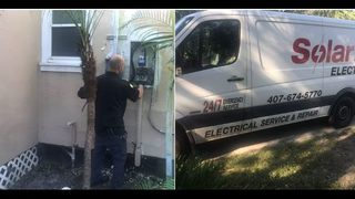 Video: Irma: Electricians swamped, customers frustrated as repairs continue