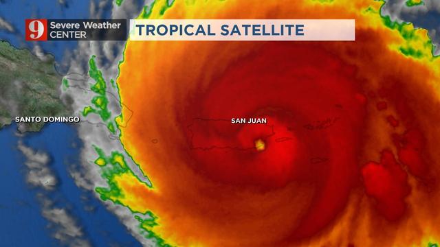 WATCH: Hurricane Maria pummels Puerto Rico