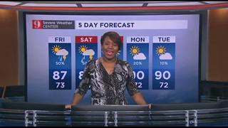 5 Day forecast: Sept 21