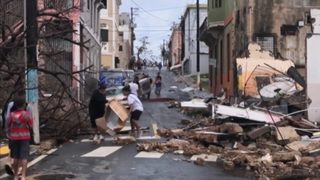 Puerto Rico Hurricane: Some calls from loved ones make it to mainland