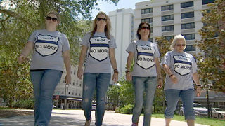 Video: Spread Love and Kindness: Group of women on lookout for law enforcement in Central Florida