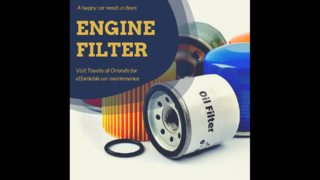 Learn more about engine air filters with Toyota of Orlando