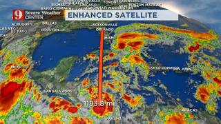 Video: Tracking Tropical Depression 16