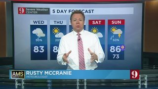 5 day forecast: Gloomy Wednesday, drier weather ahead