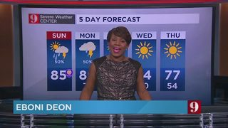 5-day forecast: Cold front on the way, temperature drops