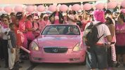 More than 70,000 people filled the streets of downtown Orlando for the Making Strides Against Breast Cancer walk.
