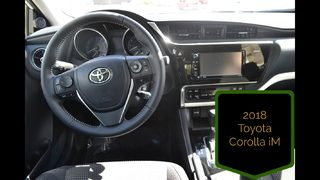 Take a look at the new 2018 Toyota Corolla iM!