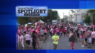 Central Florida Spotlight Oct. 22 Breast cancer awareness and Teach for America
