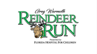 Greg Warmoth Reindeer Run at SeaWorld 2018