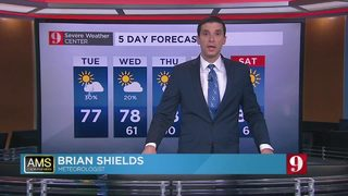 5 day forecast: Breezy weather pumps in some showers
