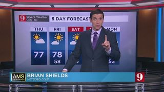5 day forecast: Chilly starts; mild days