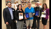 Blood donors inducted into hall of fame.