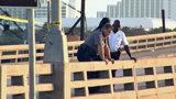 Raw video: Body found beneath Daytona Beach bridge