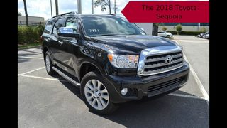 Come see the new 2018 Toyota Sequoia at Toyota of Clermont!